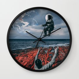 Raising Astronauts Wall Clock