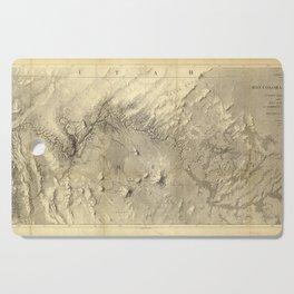 Rio Colorado Of The West 1858 Cutting Board