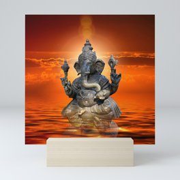 Elephant God Ganesha Mini Art Print
