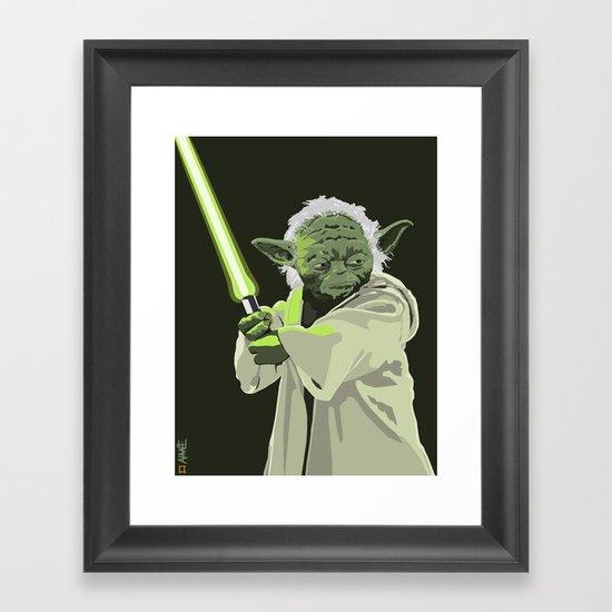 Yoda of Star Wars Framed Art Print