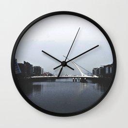 Samuel Beckett Bridge Wall Clock