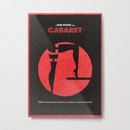 Cabaret Metal Print