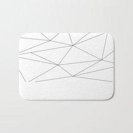 Polygons Bath Mat