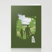 the last of us Stationery Cards featuring The Last Of Us by Pixel Design
