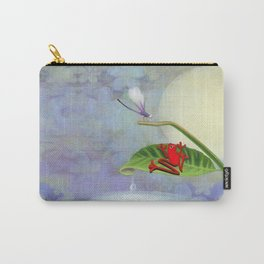 RedFrog and the Dragonfly Carry-All Pouch