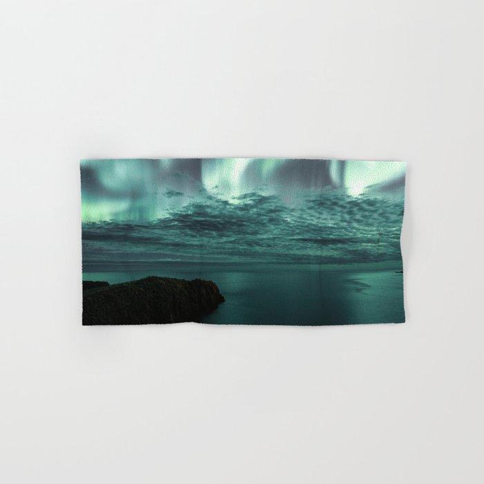 Aurora Borealis II Hand & Bath Towel