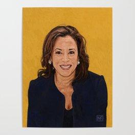Senator Kamala Harris, Democratic candidate for President 2020 Poster