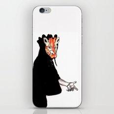 Giraffe Mask iPhone & iPod Skin