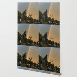 Fisherman's Memorial rainbow Wallpaper