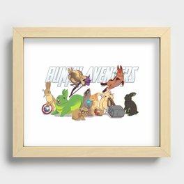 bunny 'vengers Recessed Framed Print