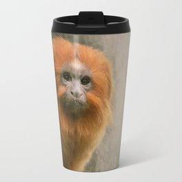 Little Golden Headed Lion Tamarin Travel Mug