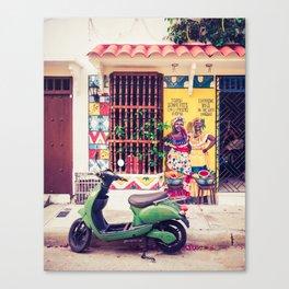 Caribbean Colors Fine Art Print Canvas Print