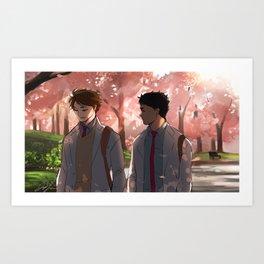 Distances Art Print