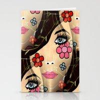 blossom Stationery Cards featuring Blossom by Sartoris ART