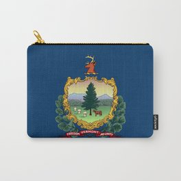 Vermont State Flag Carry-All Pouch