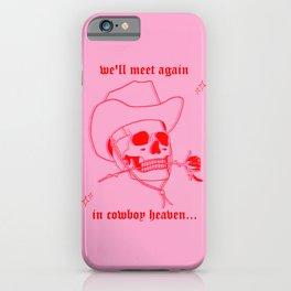 COWBOY HEAVEN iPhone Case