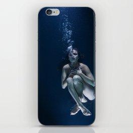 Woman Underwater iPhone Skin