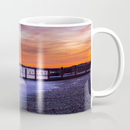 Sunset over Dymchurch Coffee Mug