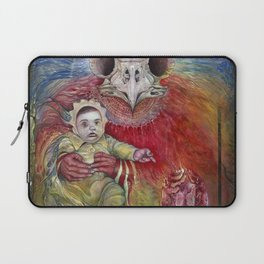 The Surrogate Mother-Goddess of Wisdom holding Alter-Ego Baby Bogomil Laptop Sleeve