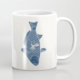 Fishing in a fish 2 Coffee Mug