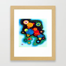 Wassily Kandinsky Deepened Impulse Framed Art Print
