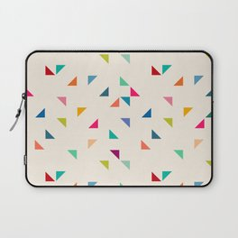Seamless geometric pattern with triangles Laptop Sleeve