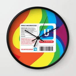 Fairytale Transfusion Wall Clock