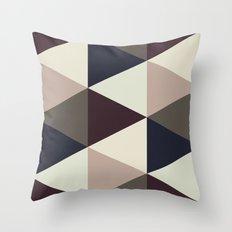 Triangle Sundae Throw Pillow