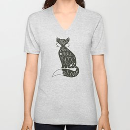 What Does The Fox Say? Unisex V-Neck