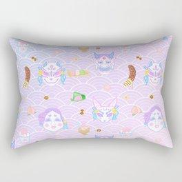 Summer Festival Rectangular Pillow