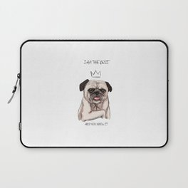 I am the boss, and you know it Laptop Sleeve