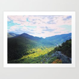 Vermont on the cusp of fall Art Print