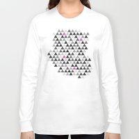 geo Long Sleeve T-shirts featuring geo by Amanda Nicole