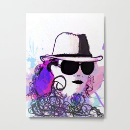 benny abstract Metal Print
