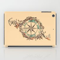 fly iPad Cases featuring Bon Voyage by Norman Duenas