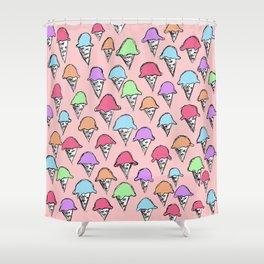 ice cream ice cream -1- Shower Curtain