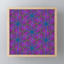 Bubbles 7 kaleidoscope Framed Mini Art Print