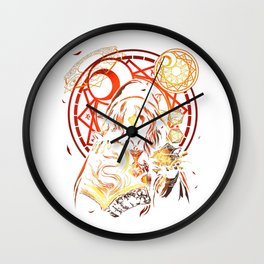 DM Dungeon Fantasy Adventure RPG Role Playing Game Master T-Shirt Wall Clock