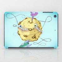 potato iPad Cases featuring Moon Potato by skarmanami