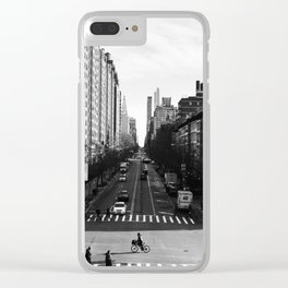 New York, New York Clear iPhone Case