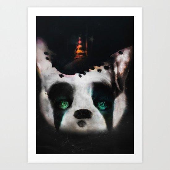 Dog ( Capalau) Art Print