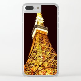 Tokyo Tower Clear iPhone Case