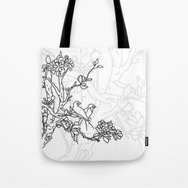 Lovebirds 03 Tote Bag