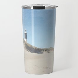 Spurn Point Lighthouse | Texture Travel Mug