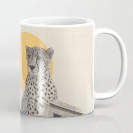 Giant Cheetah in Ruins Coffee Mug