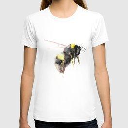 Bumblebee, bee art, bee design T-shirt