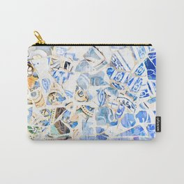 Mosaic of Barcelona XII Carry-All Pouch