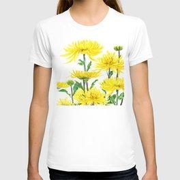 Yellow Chrysanthemums T-shirt