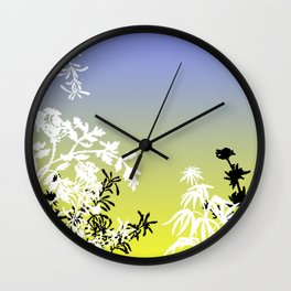 Peaceful Autumn 3 Wall Clock