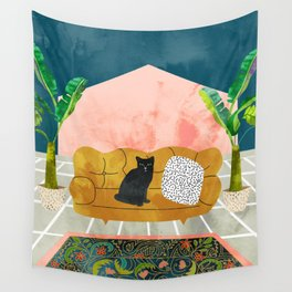 Meow Wall Tapestry
